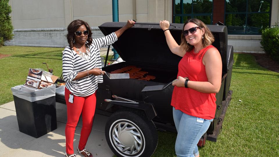 BBQ du 4juillet à Charleston