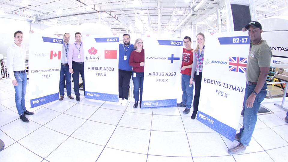 L'équipe de TRU à Montréal célèbre ses nombreux succès